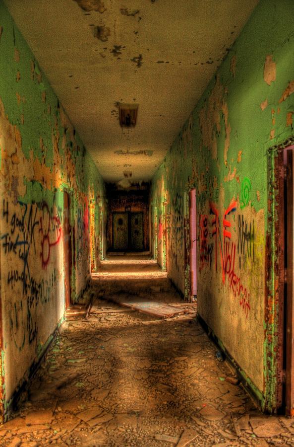 Henryton Photograph - Corridor Of Shadows by Heather  Boyd