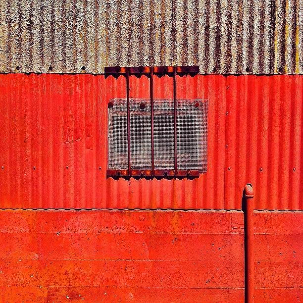 Corrugated Metal Photograph - Corrugated by Julie Gebhardt