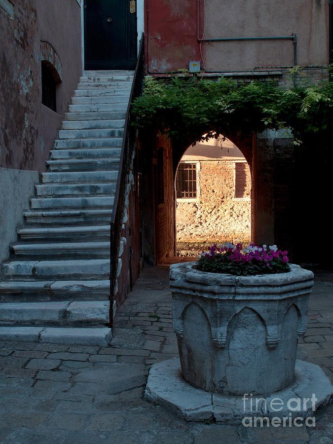 Venice Photograph - Corte Della Comare by Heiko Koehrer-Wagner