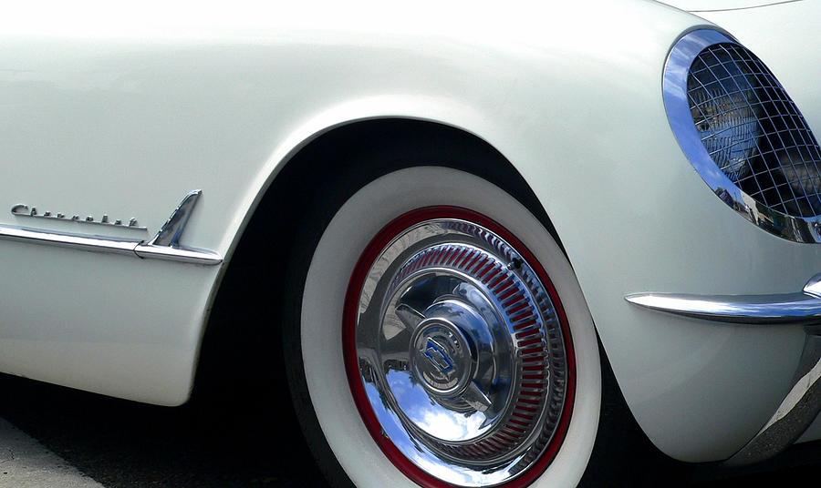 1955 Photograph - Corvette Cherokee by Jeff Lowe