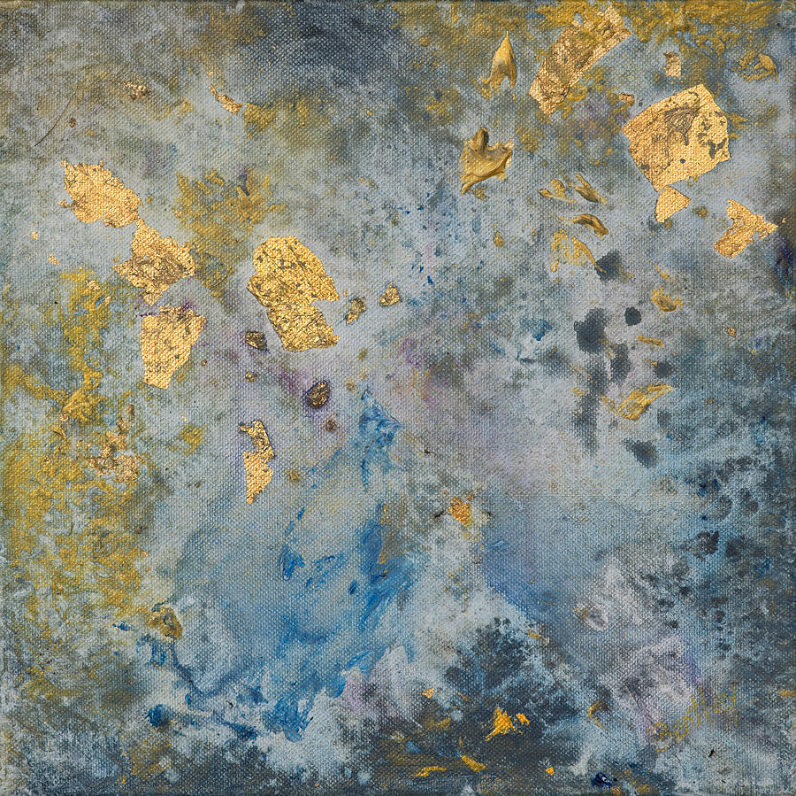 Abstract Painting - Cosmic 25 No. 2 by Rita Bentley