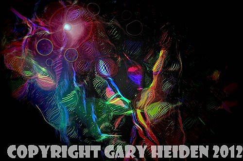 Abstract Painting - Cosmic Carnival by Gary Heiden