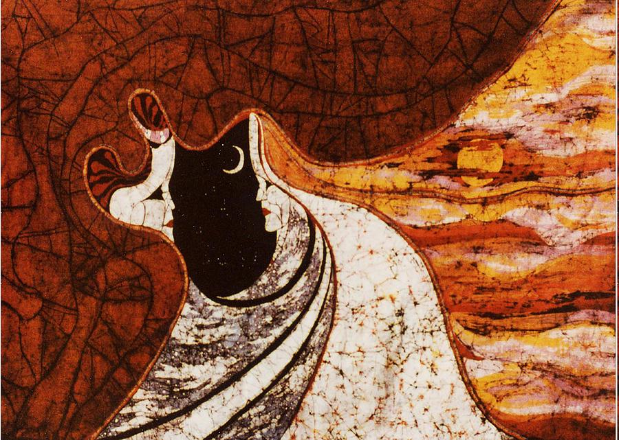 Cosmic Landscape Tapestry - Textile - Cosmic Women by Alexandra  Sanders