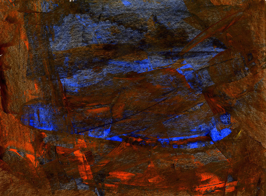 Cosmos 33 Painting