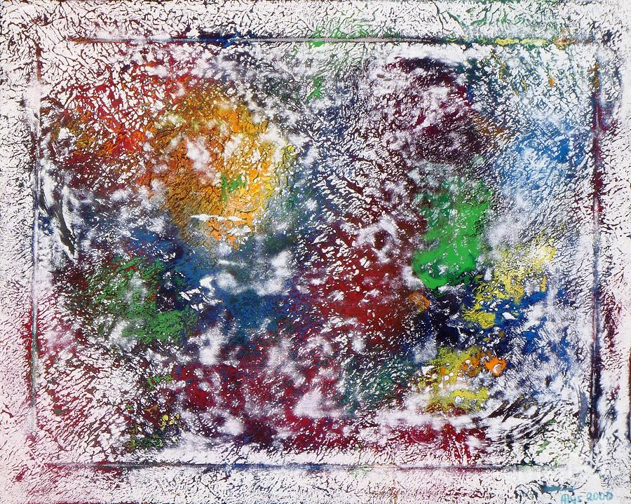 Universe Painting - Cosmos by Alys Caviness-Gober