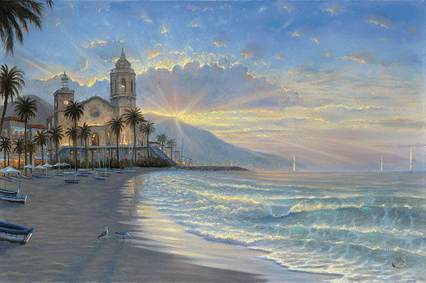 Finale Painting - Costa Azul by Robert Finale