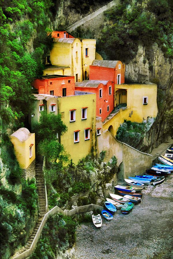 Amalfi Coast Photograph - Costeria Amalfitano by John Galbo