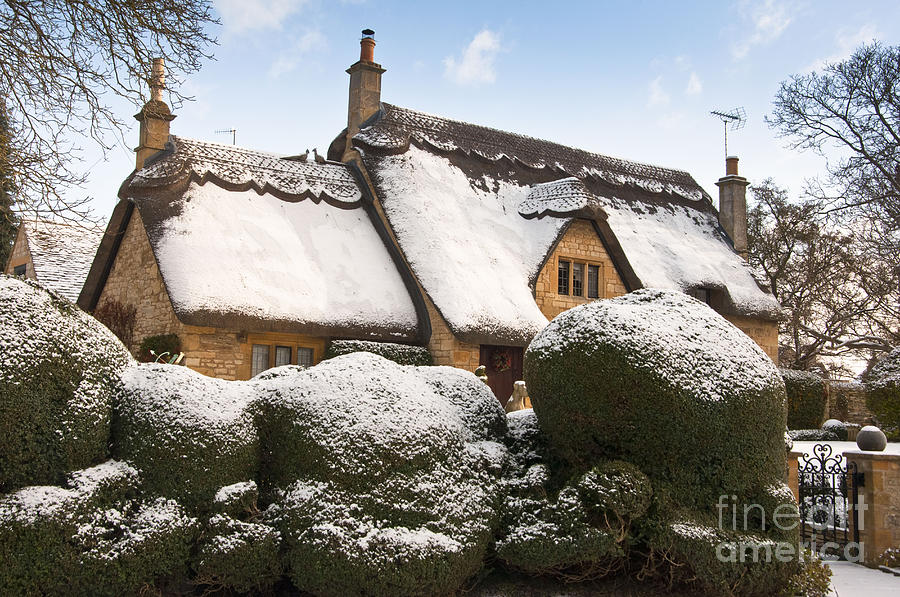 Cotswolds Cottage Photograph By Andrew Michael