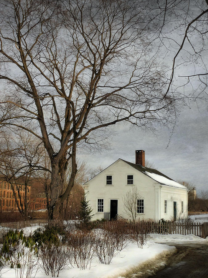Mill Photograph - Cottage By The Mill by Robin-Lee Vieira