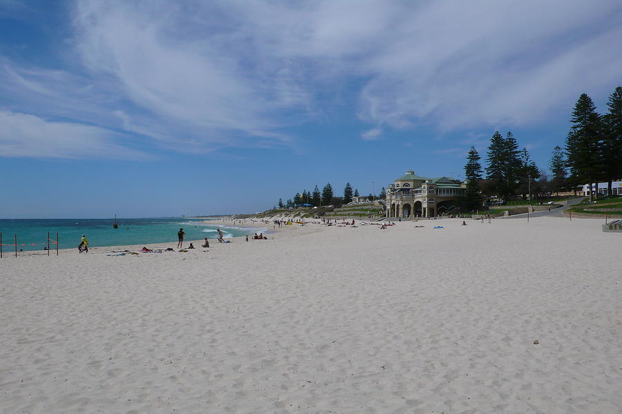 Beach Photograph - Cottesloe Beach Perth by Gregory Smith