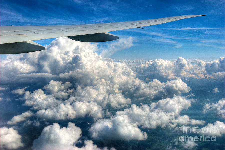 Clouds Photograph - Cotton Balls by Syed Aqueel