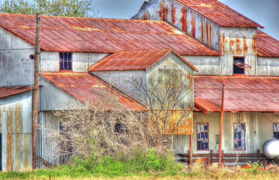 Barn Photograph - Cotton Barn 003 by Barry Jones
