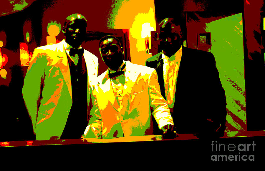 Abstract Photograph - Cotton Club Legends by Casimir Greenfield