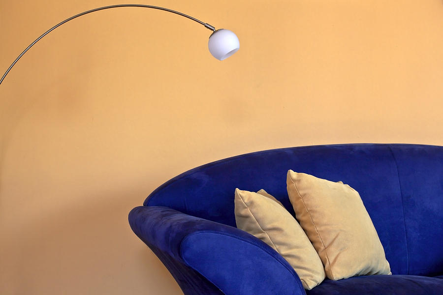 Apartment Photograph - Couch by Joana Kruse