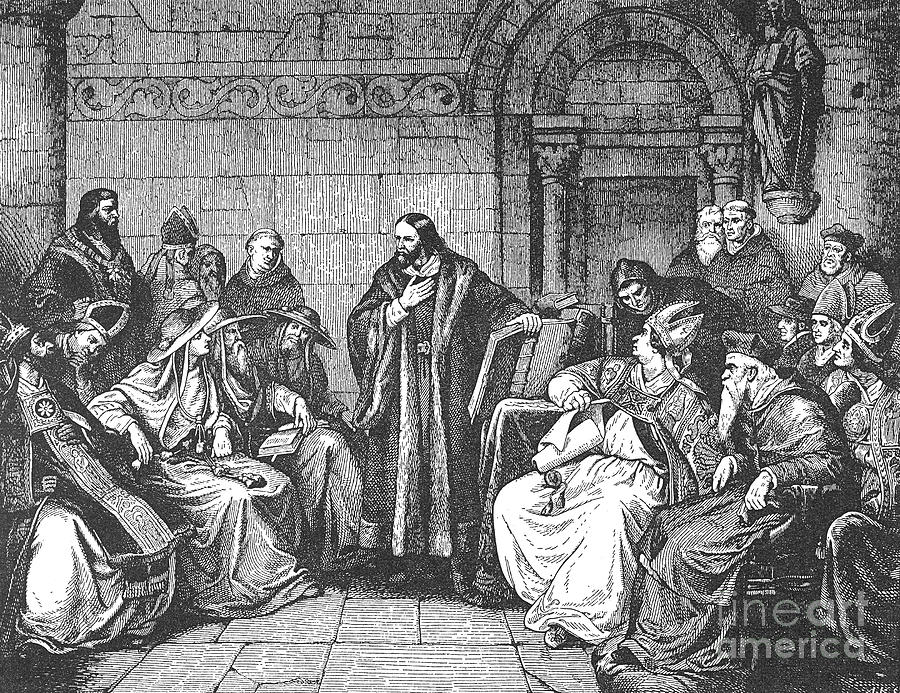 1414 Photograph - Council Of Constance, 1414 by Granger