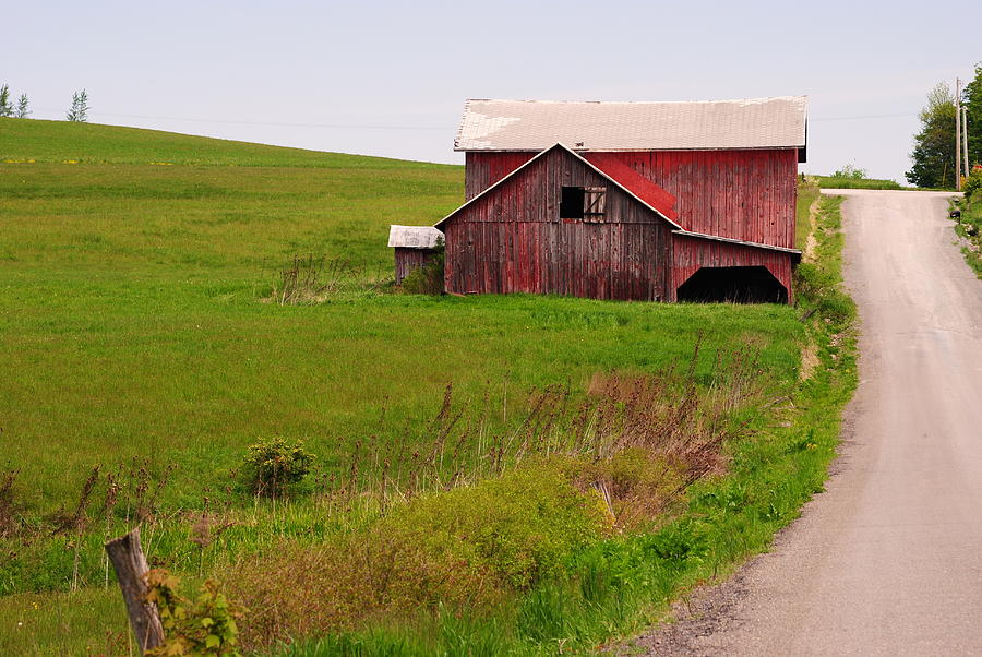 Barn Photograph - Country Barn by April  Robert