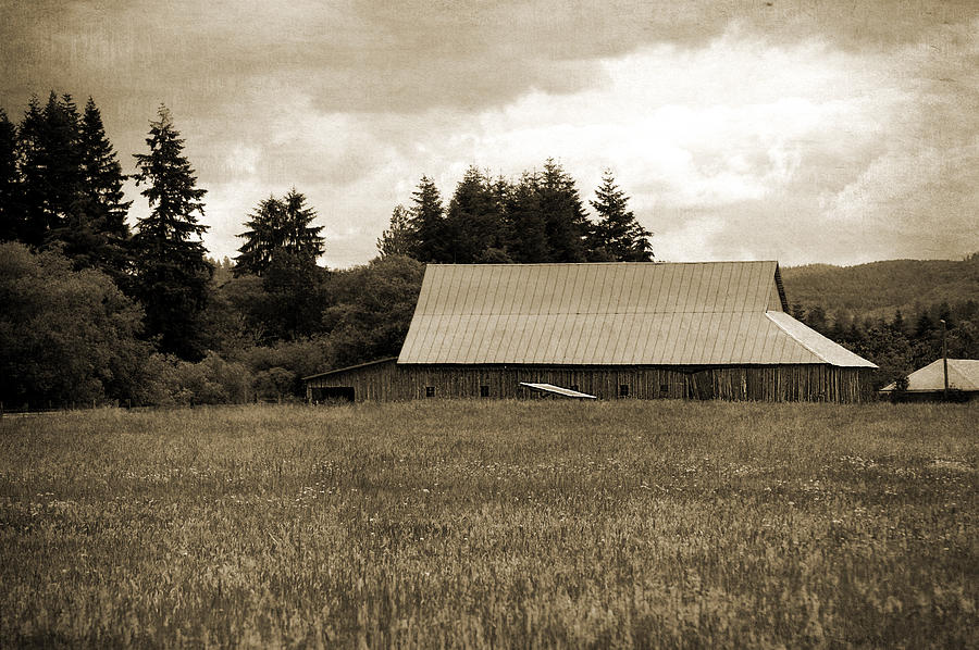 Barns Photograph - Country Charm by Terrie Taylor
