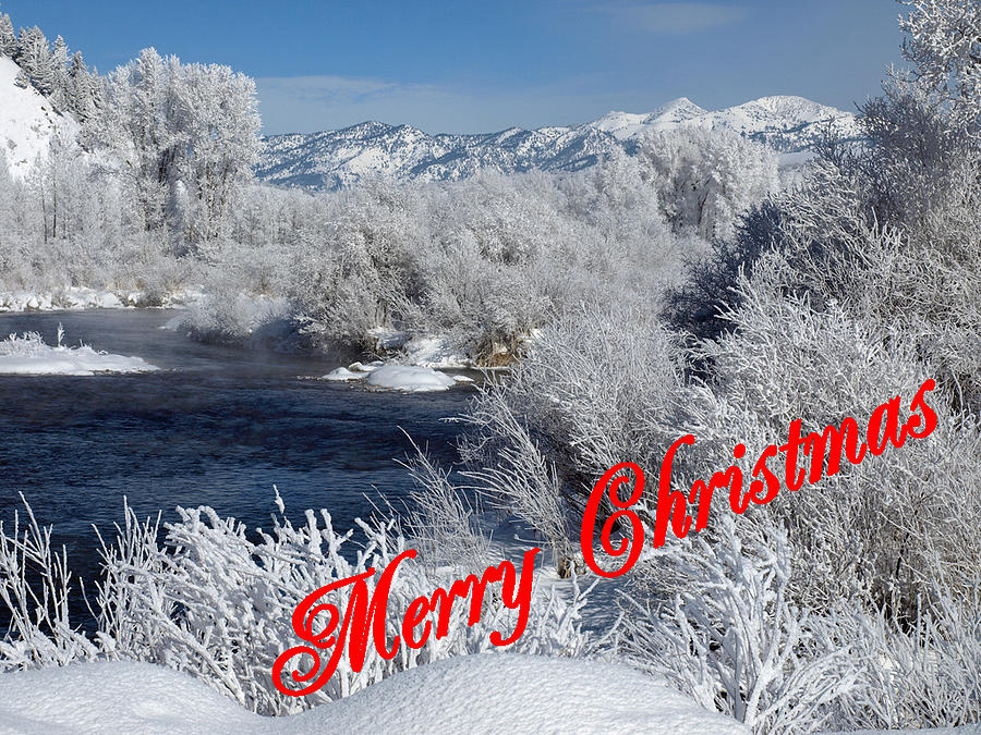 Christmas Photograph - Country Christmas 2 by DeeLon Merritt