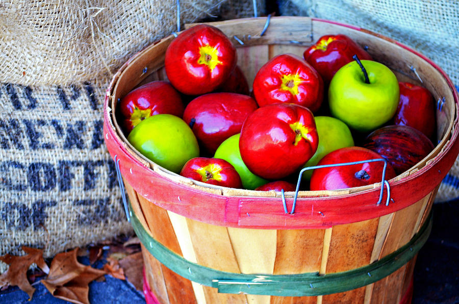 Apples Photograph - Country Cider.... by Tanya Tanski