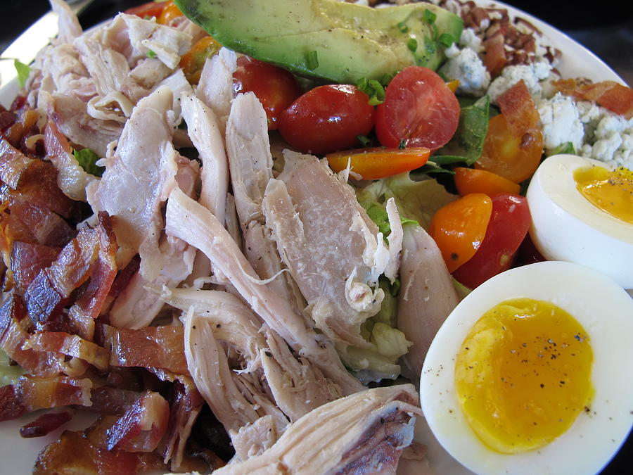 Cobb Salad Photograph - Country Cobb by Colleen Rugg