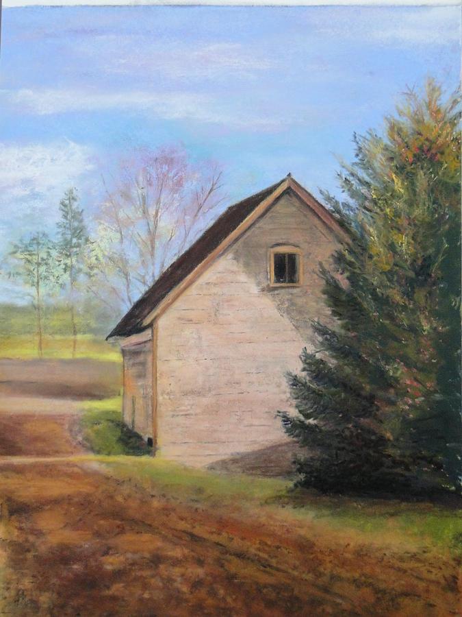 Barn Pastel - Country Journey by Cindy Plutnicki