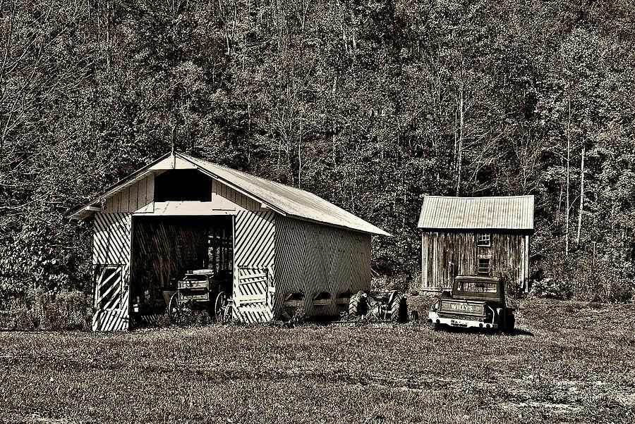 West Virginia Photograph - Country Life Sepia by Steve Harrington