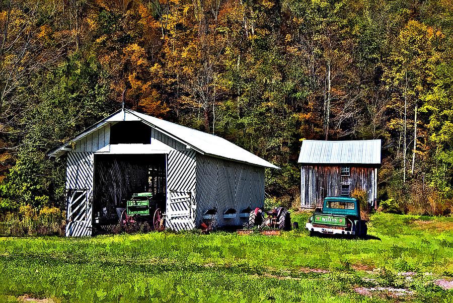 West Virginia Photograph - Country Life by Steve Harrington