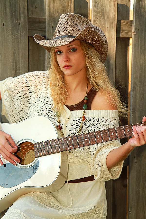 Country Photograph - Country Musician by Trudy Wilkerson
