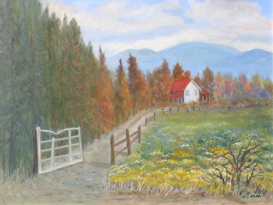 Country Road Painting by Ben Kiger