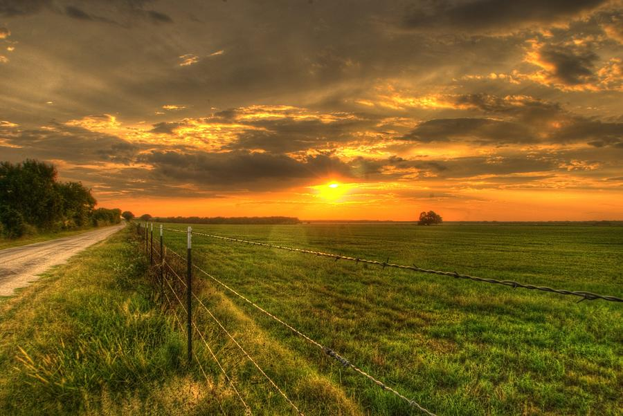 Country Roads Sunset Photograph by Beth Gates-Sully