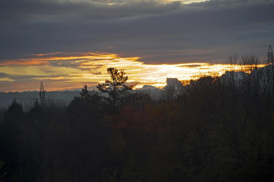 Country Sunrise Photograph by Elaine Mikkelstrup