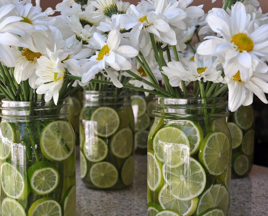 Wedding Flowers Photograph - Country Wedding by Annie  Lynn