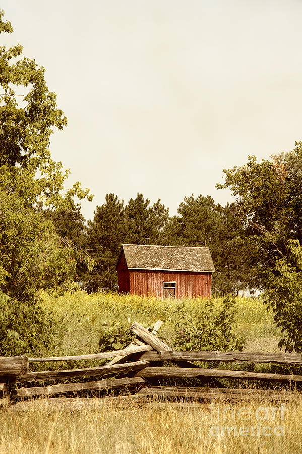 Old Photograph - Countryside by Margie Hurwich