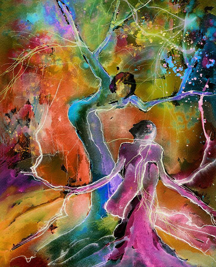 Love Painting - Coup De Foudre by Miki De Goodaboom