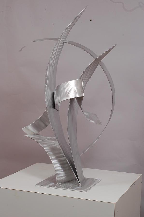 Welded Sculpture - Couple Dancing by Mac Worthington
