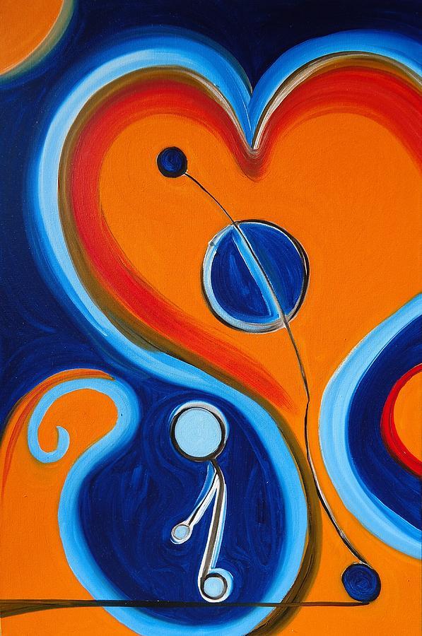 Greenworldalaska Painting - Courage - Bravery. by Cory Green