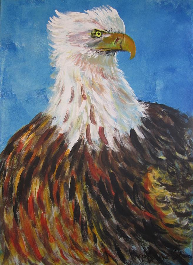Courage Painting by Julia Rita Theriault