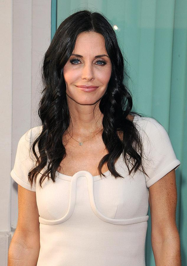 Courteney Cox Photograph - Courteney Cox In Attendance For Atas by Everett