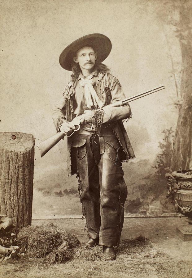 1880s Photograph - Cowboy, 1880s by Granger