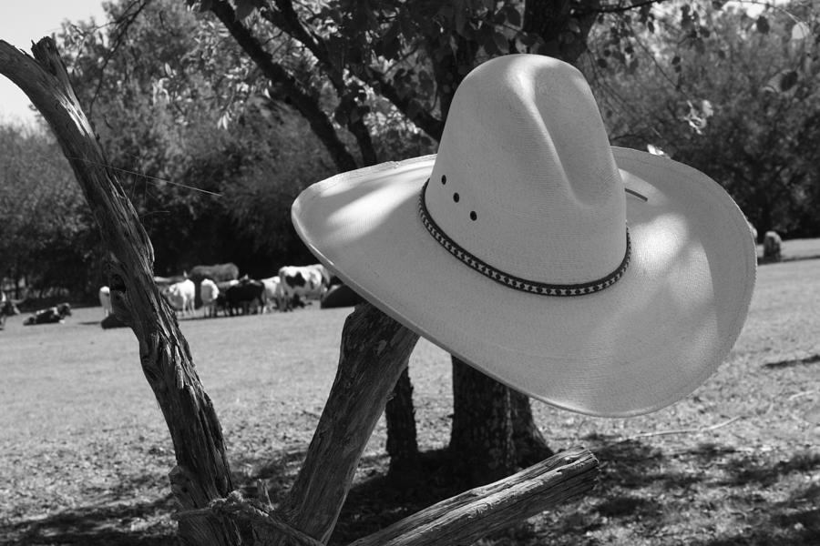 Cowboy Photograph - Cowboy Fashion by Toni Hopper