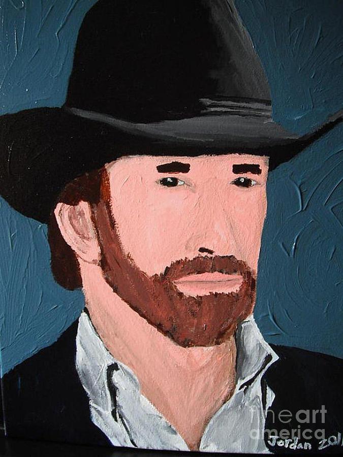 Cowboy Painting - Cowboy by Jeannie Atwater Jordan Allen