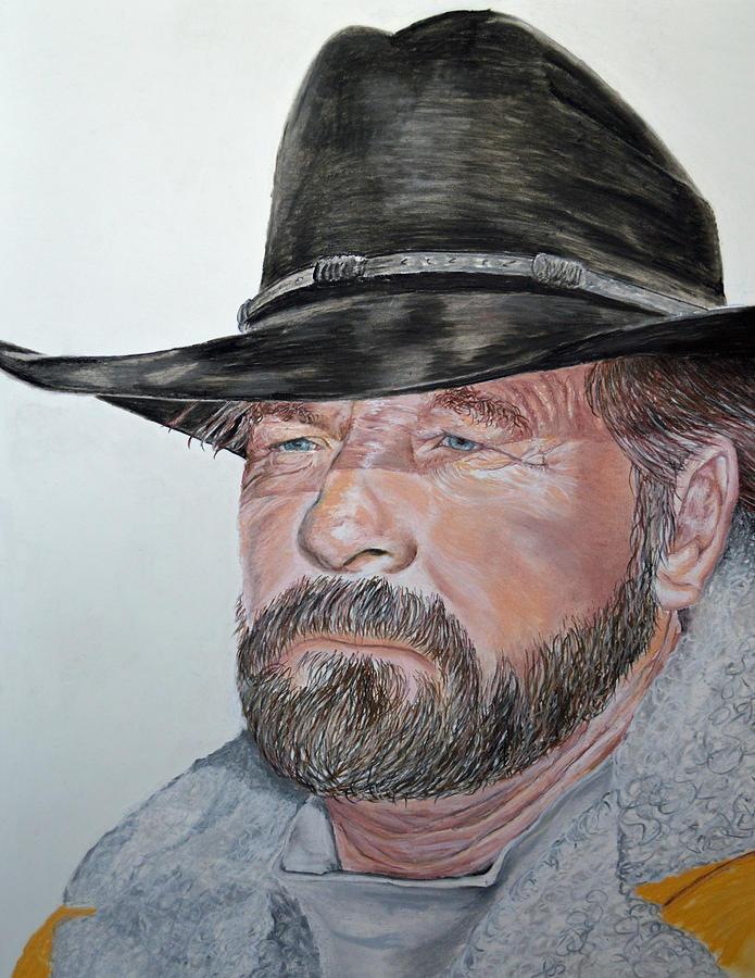Cowboy Pastel - Cowboy Up by Ann Marie Chaffin