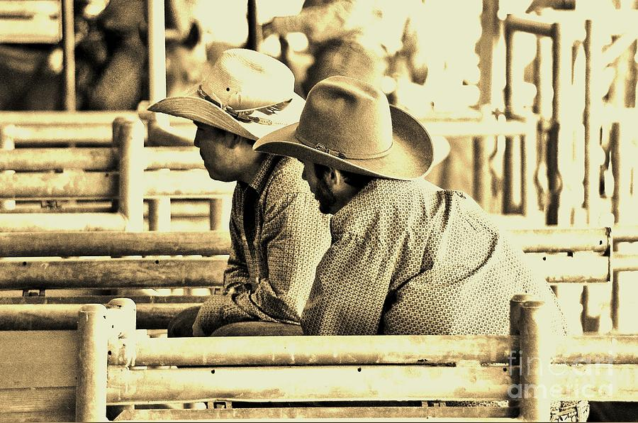 Cowboy Photograph - Cowboys by Don Youngclaus
