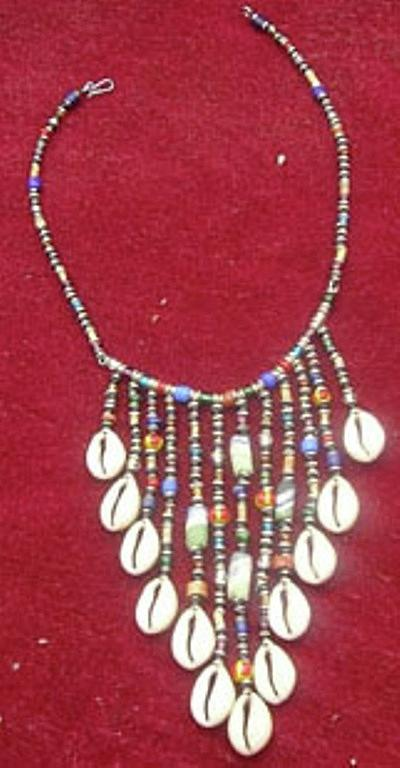 Neg Lace Jewelry - Cowrie Neg Lace by Anjeh Ambroise