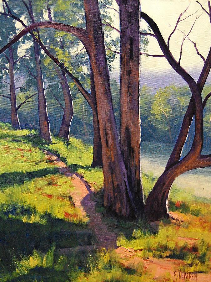 Coxs River Sheoaks Painting