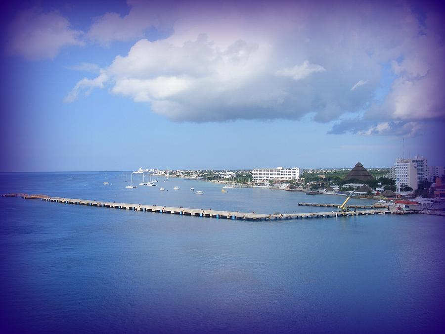 Water Photograph - Cozumel by Charles Covington