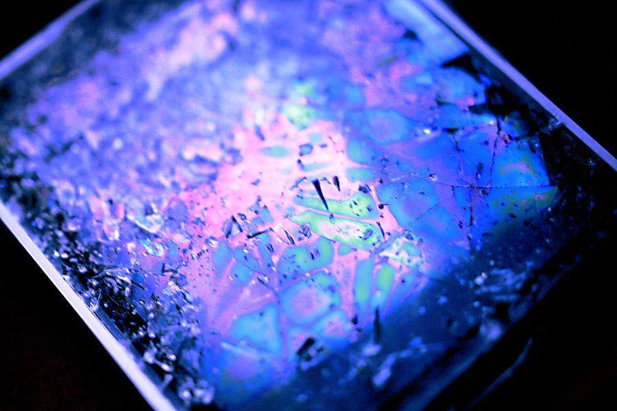 Cracked Mixed Media - Cracked Cellphone by Will Czarnik