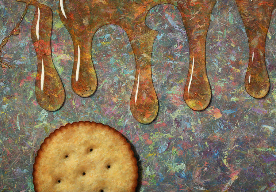 Cracker Painting - Cracker Honey by James W Johnson