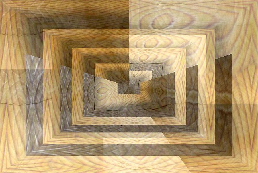 Cracks Digital Art - Cracks In The Veneer by Tim Allen