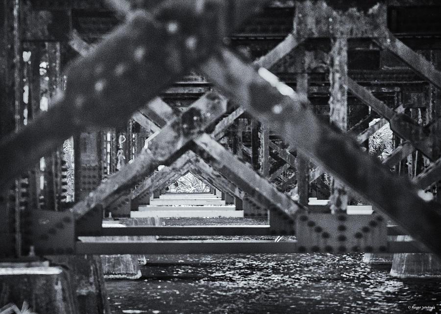 Crane Creek Railroad Bridge Photograph